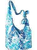 Old Navy Cotton Hobo Blue Floral