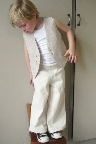 Chinny Chin Chin Vest and Pants