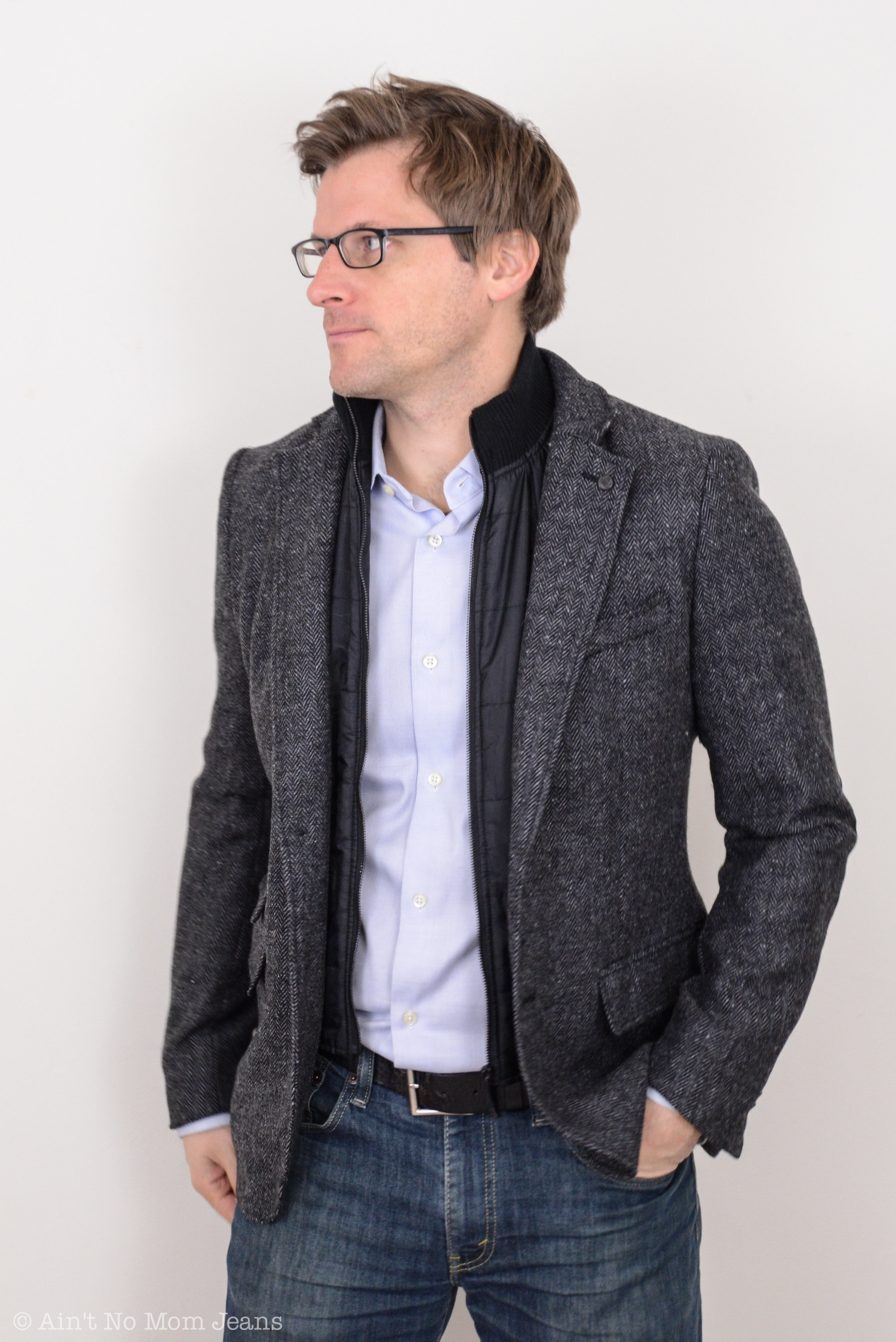 Easy Holiday Style For Guys: The Sport Coat - The Mom Edit