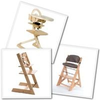 Modern Wooden High ChairsWooden High Chair Review  Comparison of the Svan  Stokke Tripp  . High Chair Like Stokke. Home Design Ideas
