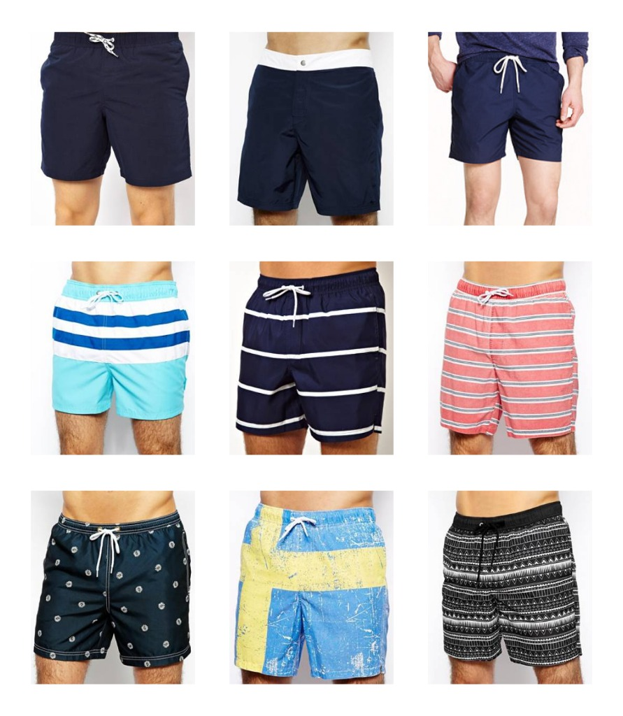 Men: Swim Trunks, Board Shorts, Suits....Whatever They're Called ...