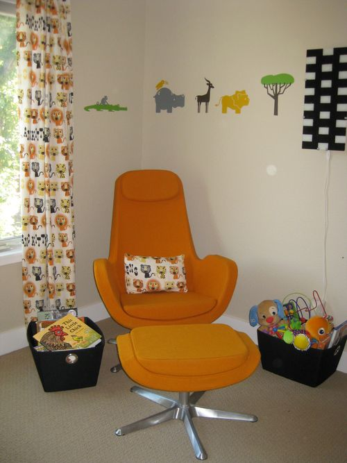 Modern Nursery Design - IKEA Trondheim Swivel Rocker