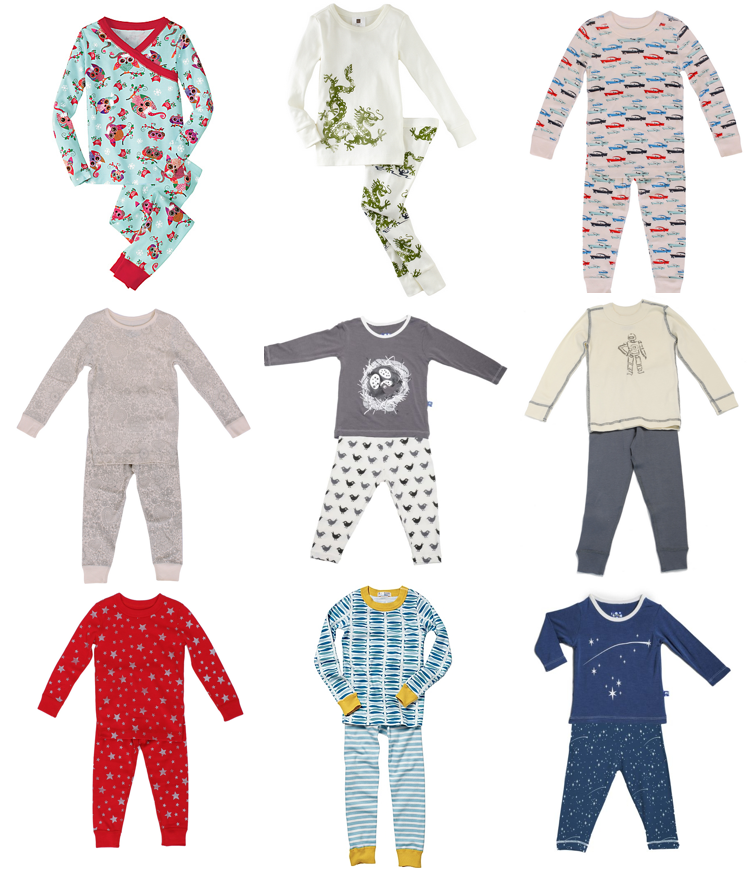 Modern, Sophisticated Sleepwear...For Kids? Wah. I Want Some ...