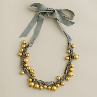 JCrew Galaxy Ribbon and Chain Necklace