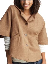 Gap's Wool Blend Cape