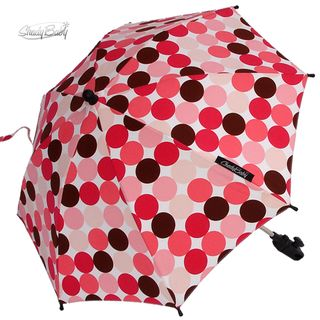 Shady Baby Pink-Brown Polka Dots