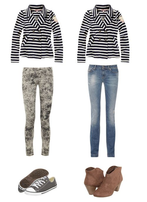 Stripejacketandjeans