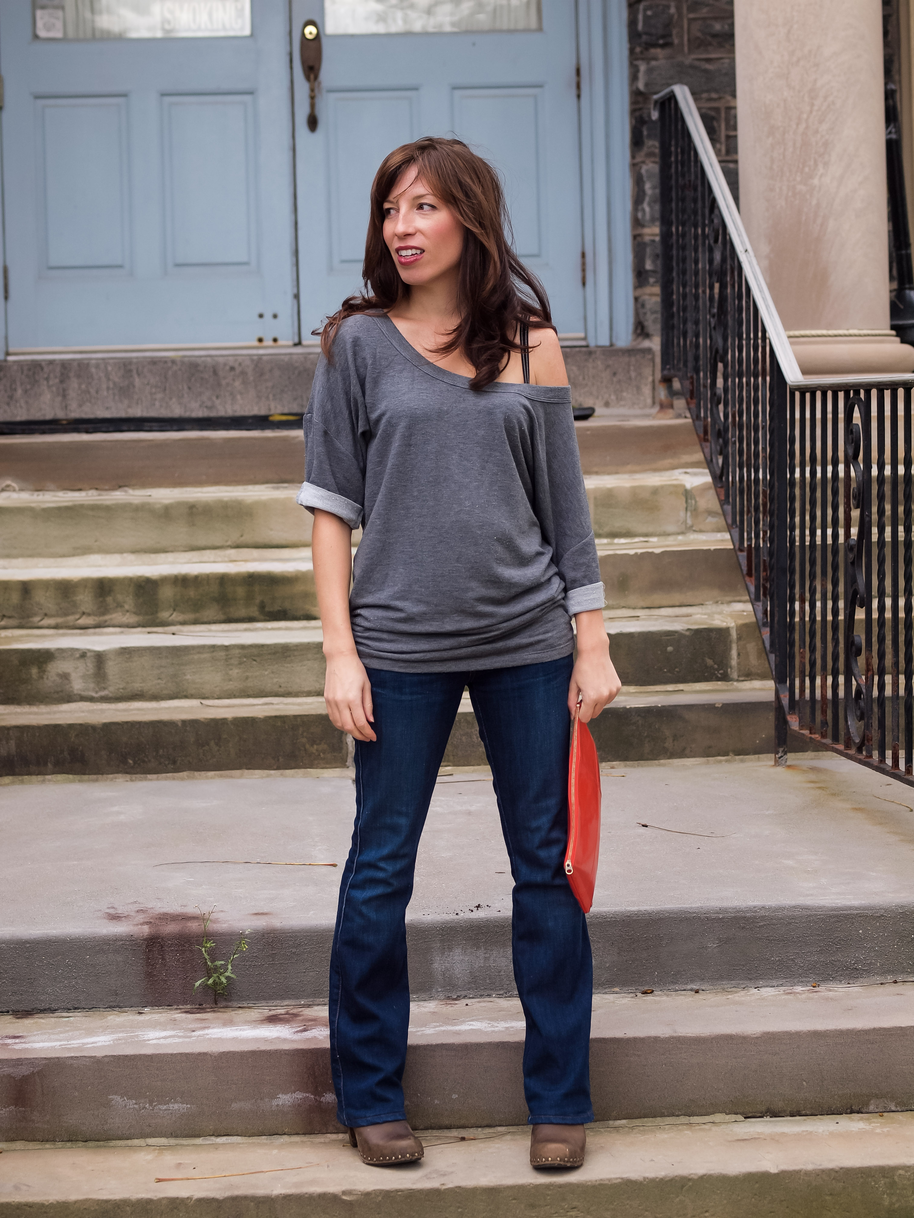 Shop Your Closet: Pair Bootcut Denim With Off-The-Shoulder Tops ...