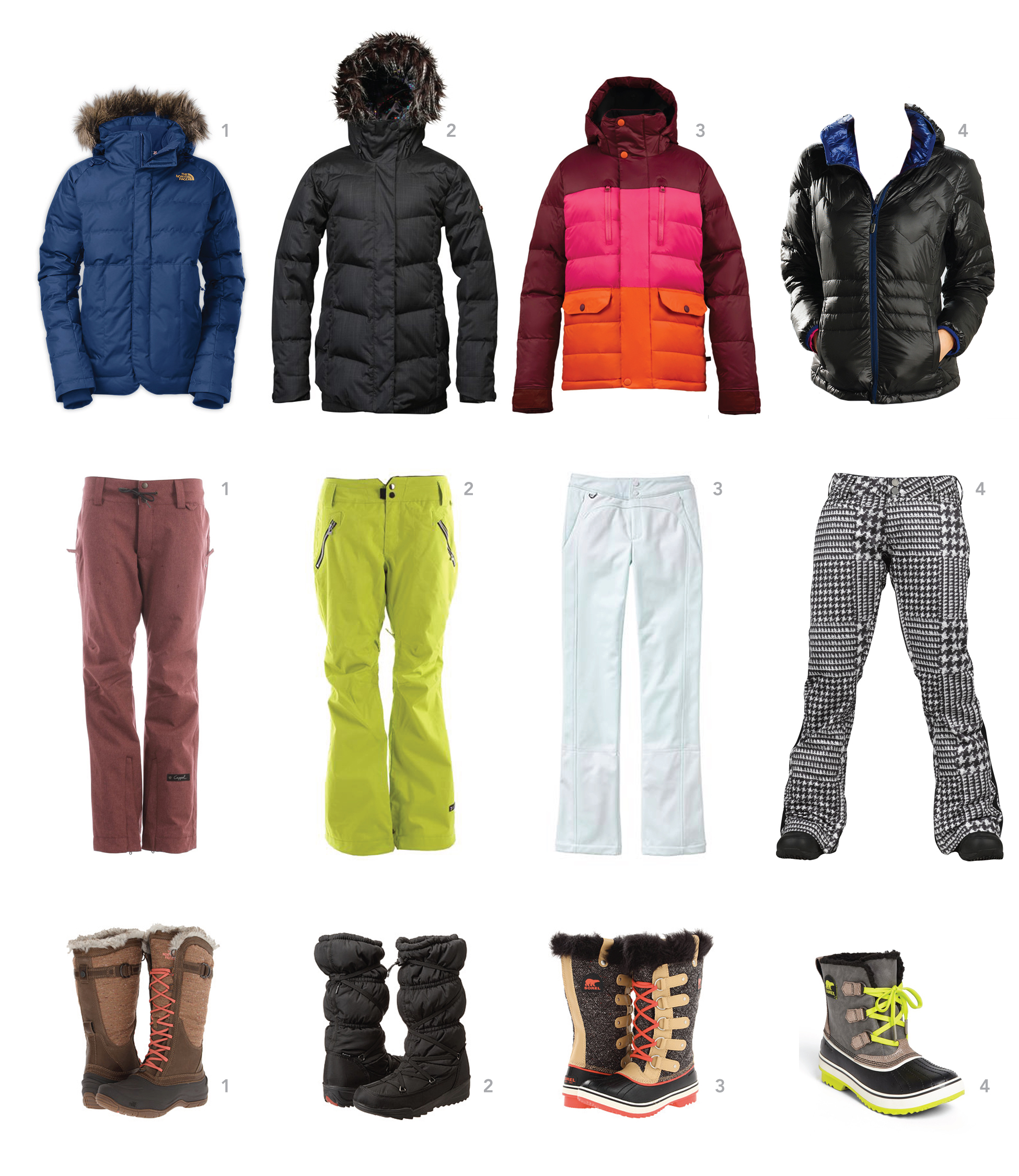 Shopping: Chic Snow Gear For Mamas Who Love To Play Outside - The ...