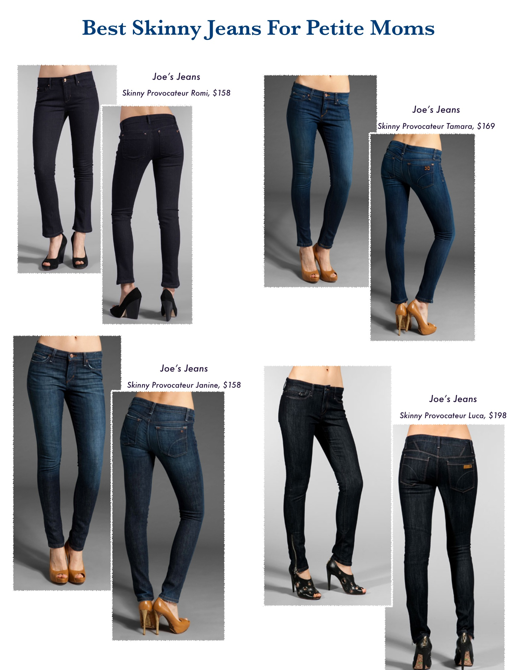 The Skinny on Skinny Jeans: The Best Styles for Moms From Revolve