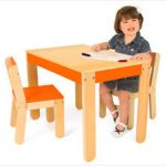 Modern Yet Affordable Kid's Table and Chair Sets