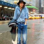 What We're Reading This Week:  It Looks Good To Me's Denim on Denim Post (And Boyfriend Jean Winter Styling Idea )