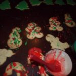 Playing: Decorating Christmas Cookies Jackson Pollock Style
