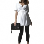 Worth The Splurge (Maternity):  Isabella Oliver's Grecian Tunic