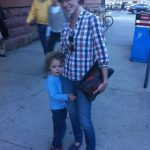 Mom Street Style: Christie's Casual-Cool Ballgame Outfit (Plus Denim Giveaway Winner!!)