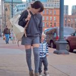 Yes I Did: Thigh-Highs (Suprisingly Perfect For Babywearing)