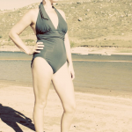 Reader Style – Esther Is Weeks Post-Partum In This Lands' End Swimsuit And It's Amazing