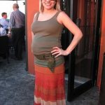 Mom Street Style: Nicole's Thrifted Maternity Finds (and Tips For Bump-Styling at Goodwill)