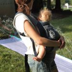 Babywearing in Hot Weather (Tips and a Review of Ergo's Lightweight Performance Carrier)