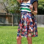 Mom Street Style:  Fran & A Full Skirt  – Should We Show This Skirt More Love?