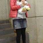 Mom Street Style – Fall In the Japanese Foothills (Ryoko's Puffer and Fur-Lined Sneaks)