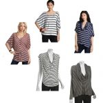 Reader Question:  Striped Tops For the Busty, Broad-Shouldered Mom?