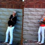 Mom Street Style – Grace's White Maternity Denim Before and After Baby
