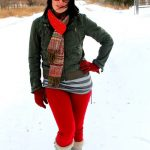Mom Street Style – Hannah's Bright Take on Post-Partum Winter Style