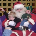 The Best Santa Pic….EVER.  (I Promise.)