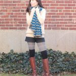 Shop Your Closet:  Layer Thigh High Socks Over Your Tights