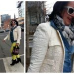 Mom Street Style | Happy Spring! Bright Denim from Toronto Shopoholic