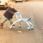 Review: The YBike's Pewi Ride-On Toy and Walking Buddy (aka…Pax's BIKE)