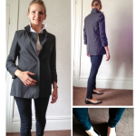 "Mom Street Style: Mary Makes Workwear ""Work"" At Home"