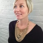 Statement Necklace Inspiration From An Adorable Pregnant Mama (Plus a Stella & Dot Sample Sale Just for ANMJ Readers)