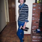 Mom Street Style:  Abby Rocks Cobalt Blue Denim (Plus Three More Ways To Style)