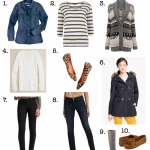 Mom Street Style:  Casey's 10 Perfect Pieces For Late Winter / Early Spring