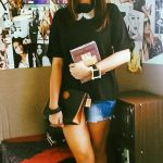 Mom Street Style:  Che Styles Her Cut-Off Denim In The Philippines