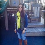 Mom Street Style:  Paola's Neon-Chic at the Playground