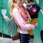 Mom Street Style:  Katie and Batman Rock The Playground