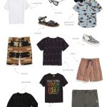 So I Put Together A Summertime Capsule Wardrobe….for Kids (Sponsored Post)