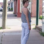 More Loungewear As Daywear:  Beach Pants