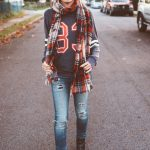 Fall Must-Have Combo:  Sporty + Plaid (And I found Boots Similar To My Marc Jacobs, FYI)