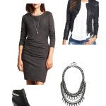 Reader Question: Seven Ways to Style a Basic Grey Sweater Dress