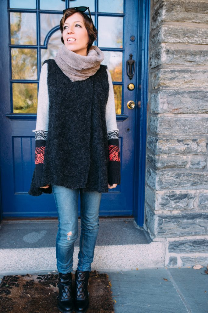 howtolayer-freepeople-vest-marcjacobs-boots-fauxfur-scarf-3