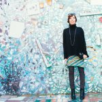 A Holiday Outfit For The Chronically Cold…At Philly's Magic Gardens