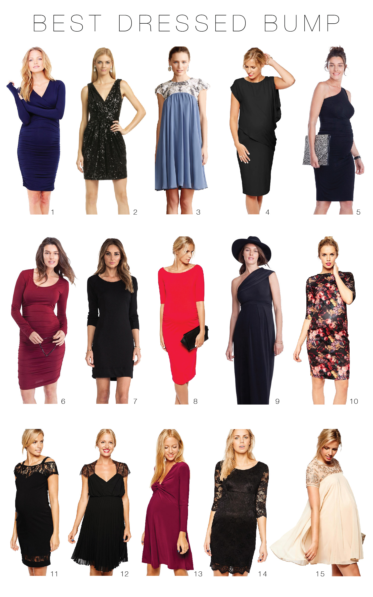 The top 15 maternity dresses to make the most of your bump this the top 15 maternity dresses to make the most of your bump this holiday season ombrellifo Gallery