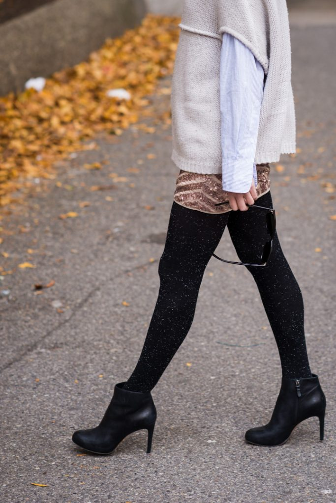 sequin-skirt-black-ankle-boots-cozy-sweater-4