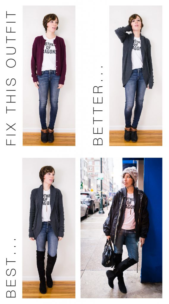 fixthisoutfit-skinnyjeanscardiankleboots-01