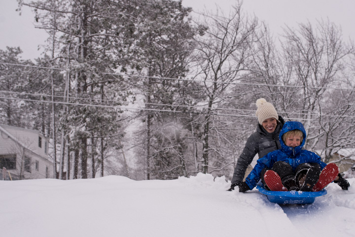 sledding-with-kids