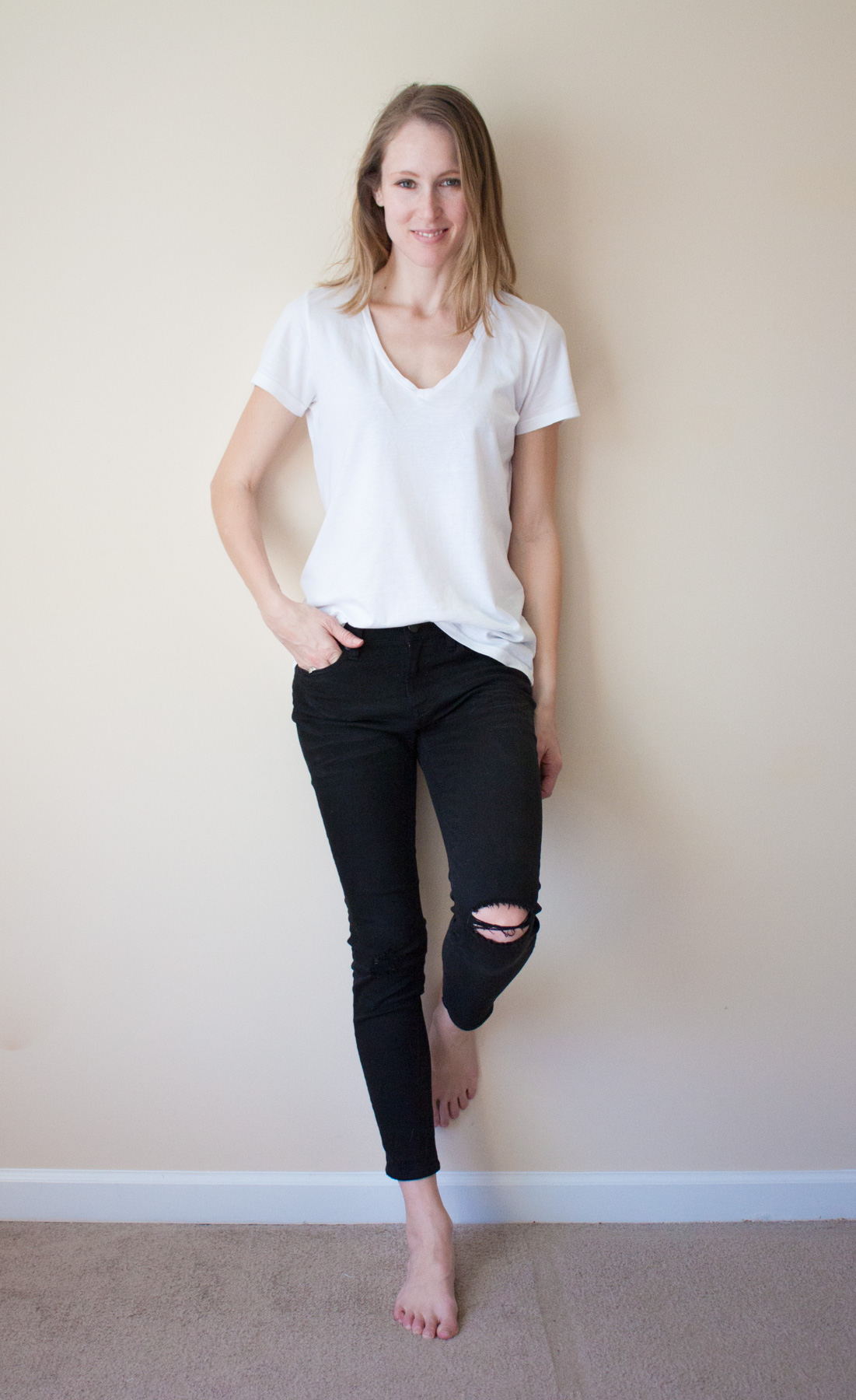 tee-jeans-styling